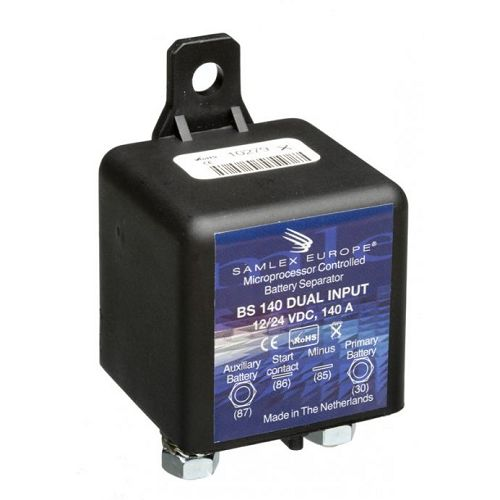 Samlex Mikroprocesorski separator BS 140 DUAL