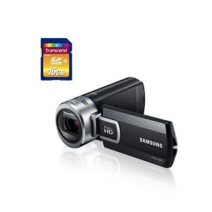 SAMSUNG kamera HMX-Q20BP/EDC + 16GB SD kartica