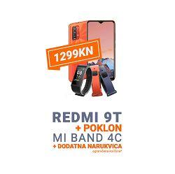 SMARTPHONE XIAOMI REDMI 9T 4+64GB SUNRISE BUNDLE