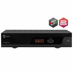 TELE SYSTEM TWIN DVBT2 H.265/HEVC TS6820T2