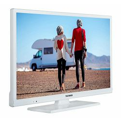 Telefunken LED TV 61cm Smart Tv,WiFi, 12V, crni