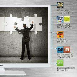 Telefunken LED TV 61cm Smart Tv,WiFi, 12V, crni
