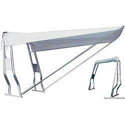 Teleskopske tende za gumenjake, Roll Bar, od inox cijevi ili stakloplastike, Osculati