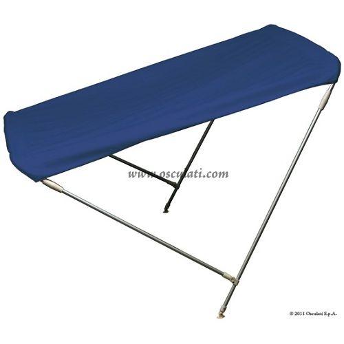 Sklopiva tenda s 2 luka, plava, Osculati 4690011