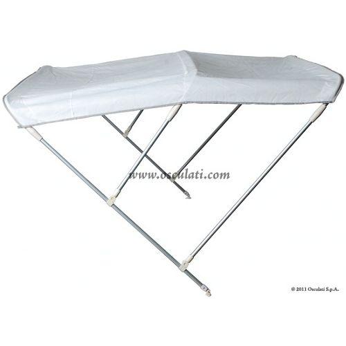 Tenda sklopiva 3 luka, bijela, Osculati 46.908.21