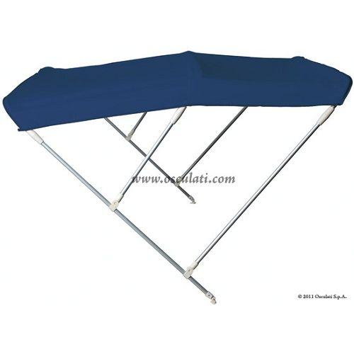 Tenda sklopiva 3 luka, plava, Osculati 46.908.31