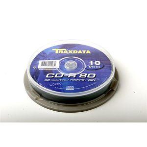 TRAXDATA OPTIČKI MEDIJ CD-R CAKE 10