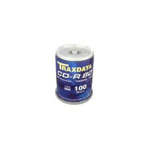TRAXDATA OPTIČKI MEDIJ CD-R CAKE 100