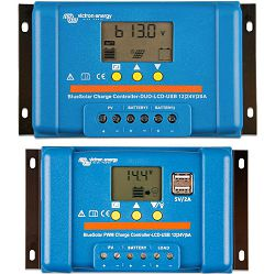 VICTRON BLUE SOLAR PWM LCD DUO 12/24 20A