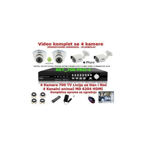 Video komplet MD-6204HDMI + 4kamere