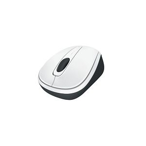 Wireless Mobile Mouse 3500 White Gloss