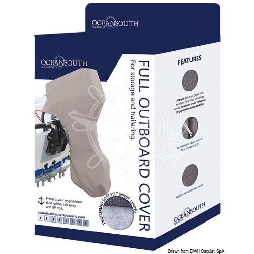 Zaštitni pokrivač za vanbrodske motore od 30-60KS, Osculati 4653805