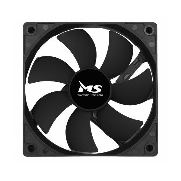 MS PC COOL 12cm crni ventilator za kućište