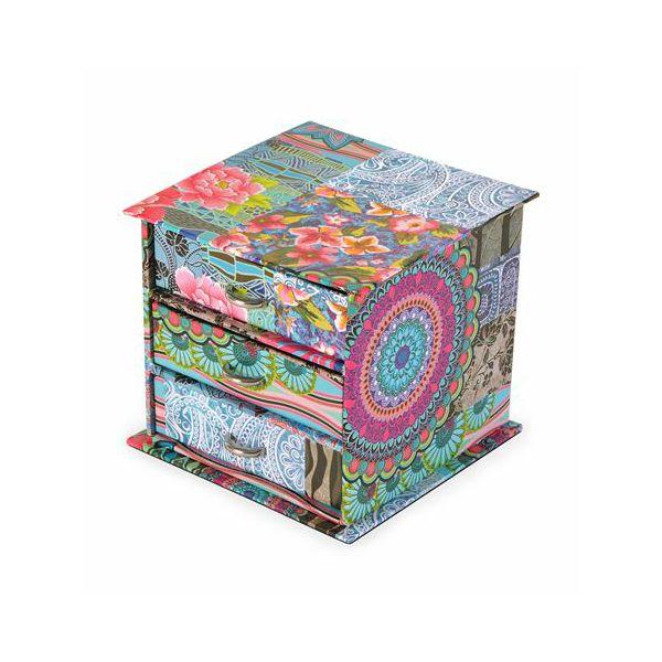 Kutija za nakit 11*11*10 cm indian sorto