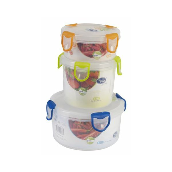 Spremnik za hranu CLIP FRESH 0,35 L okrugli