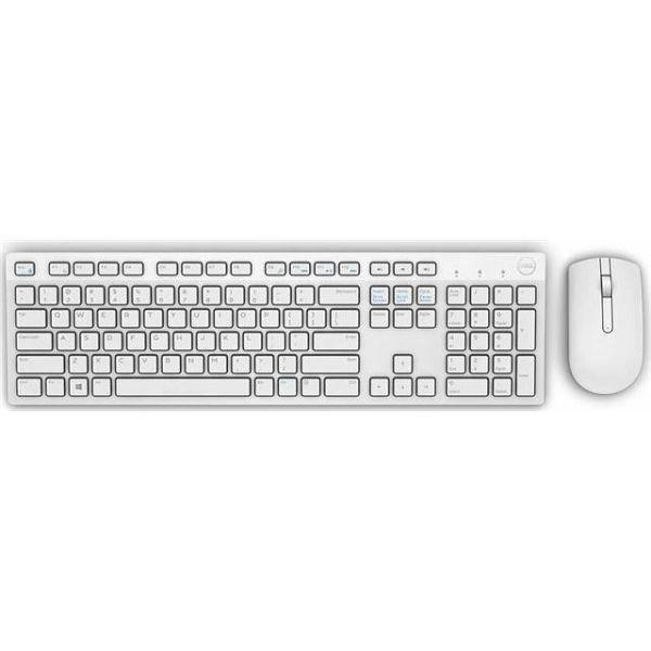 Dell bežični set tipkovnica + miš, bijela boja
