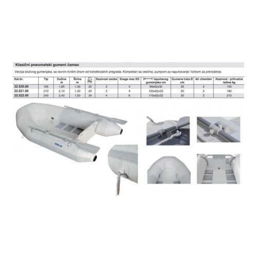 Gumeni čamac 2.40m