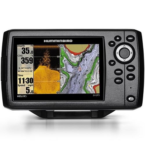 Humminbird Helix 5 CHIRP DI  GPS G2 + ZAŠTITNA NAVLAKA