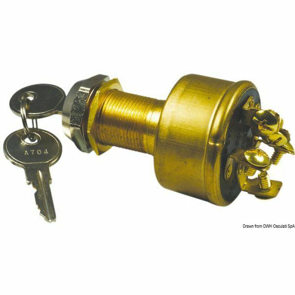 Ključ za upućivanje, vodonepropusan, Osculati 14.918.30
