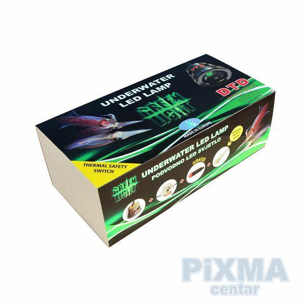 LED lignjolovka potopna PROFI Zeleno svjetlo DTD