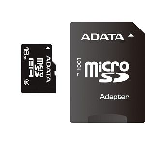 Memorijska kartica Adata SD MICRO 16GB HC Class4