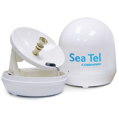 Sea Tel Coastal ST14E satelitska antena