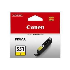 Tinta Canon CLI-551 Yellow