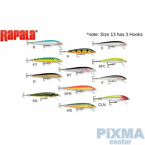 VOBLER RAPALA Original Floater F13